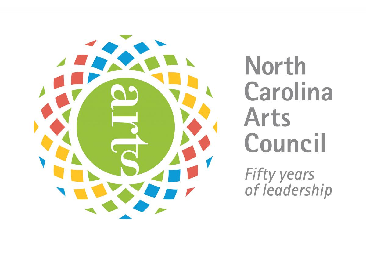 NC Arts Council logo: North Carolina Arts Council: Fifty Years of Leadership